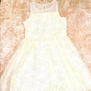 White Christmas/ New Years! dress